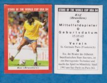 Brazil Rai Paris St Germain 1994